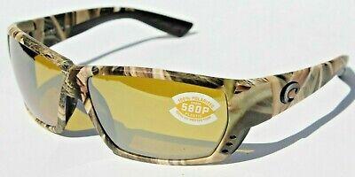 COSTA DEL MAR Tuna Alley 580P POLARIZED Sunglasses Mossy Oak Camo/Silver (Costa Sunglasses Tuna Alley)