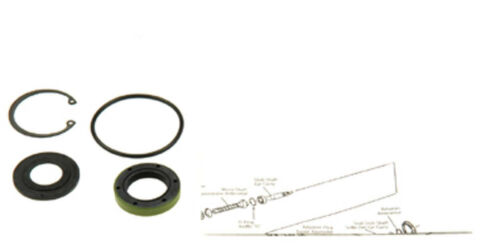 Details about Steering Gear Input Shaft Seal Kit-Power Steering Repair Kit  Edelmann 7095
