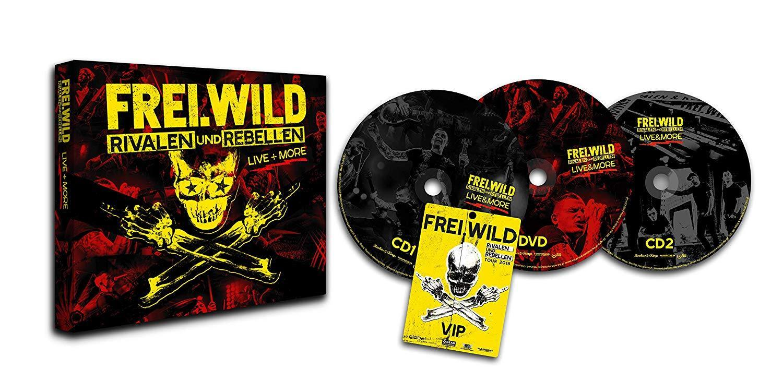 FREI.WILD Rivalen und Rebellen Live & More (Limited Edt.)  2 CD  + DVD NEU & OVP