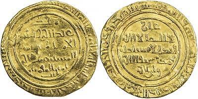 EGYPT, ISLAMIC GOLD FATIMID AV DINAR AL MUSTANSIR  ( 2ST ) ISKANDARIYA , RARE, usado segunda mano  Embacar hacia Argentina