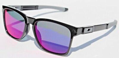 Oakley Catalyst Sunglasses Black Ink Red Iridium New Oo9272 06