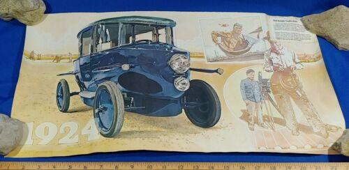 1924 RumplerTropfen Will Rogers Car Antique Auto Poster Sign Litho Art Print