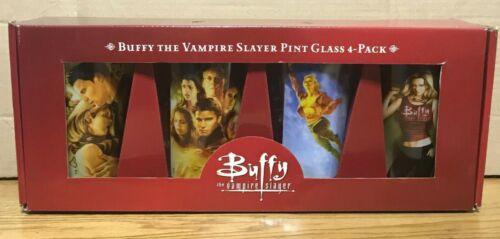 MIB Buffy the Vampire Slayer BTVS Season 8 Jo Chen Art Pint Glass Set of 4
