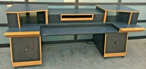 Custom KK Audio Studio Production Keyboard Workstation Desk with Racks