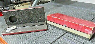 Starrett Dial Caliper 120z Edp 55951 With Hard Case ---- D18