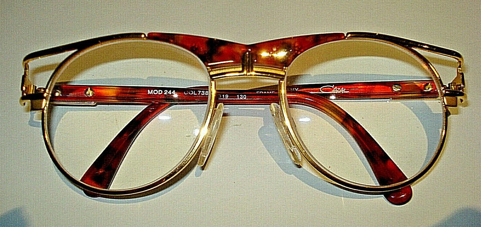 CAZAL Modell 244 Brillengestell Design Vintage gut erhalten Brille