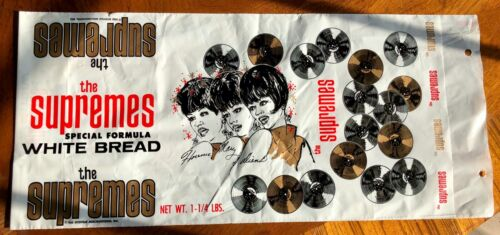 The Supremes White Bread Wrapper - DIANA ROSS - Schafer
