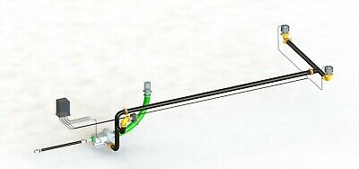 Water Truck Kit Pressure System Pump 2 Spray Heads 1 Cannon Connections Etc