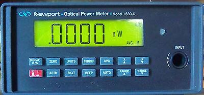 Newport 1830-c Optical Power Meter