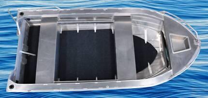 New 4000mm aluminium boat  at Bunbury Boat Show
