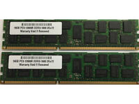 64GB 12800R RAM MEMORY FOR DELL POWEREDGE R7610 T3600 T5600 T7600 4 x 16GB