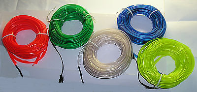 Welt EL wire for sawing onto clothing