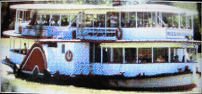 RIVERBOAT, VIC (AUSTRALIA) ~ NEW Counted Cross Stitch KIT #ML11