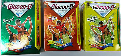 Glucon-D :: Instant Energy Drink :: 200 GM :: Original / Orange / Lemon Flavor