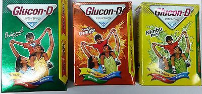Glucon-D :: Instant Energy Drink :: 200 GM :: Original / Orange / Lemon Flavor