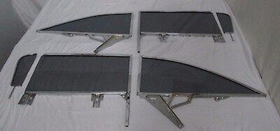 CHEVROLET BUICK PONTIAC OLDSMOBILE HARDTOP GREY SIDE GLASS SET IN FRAMES 59-60