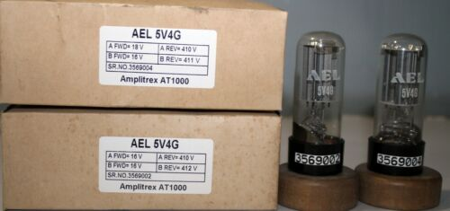 1MP 5V4G AEL Plate Getter Made in Russia Amplitrex AT1000 Tested#3569004&2