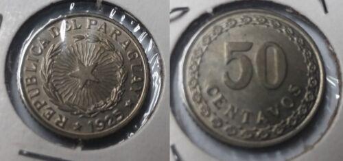 1925 Paraguay 50 C Nice UNC