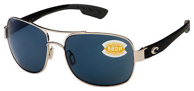 Costa Del Mar Cocos Sunglasses CC-21-OGP Palladium w/Black | Gray 580P (Costa Del Mar Cocos)