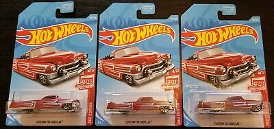 2018 Hot Wheels Custom '53 Cadillac Target Red Edition. Create your own bundle!](Target Customes)