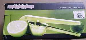 CITRUS PRESS - STAINLESS STEEL - BRAND NEW IN BOX Windsor Gardens Port Adelaide Area Preview