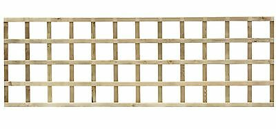 6ftx2ft Elite Square Wall Trellis Climbing Plants Garden Pressure Treated Wood
