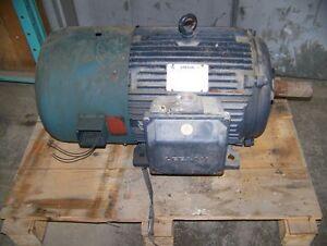 30 Hp 6 Pole Leeson c/w Electric Cooling Fan Kitchener / Waterloo Kitchener Area image 1