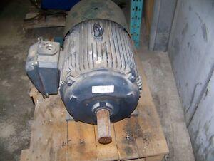 30 Hp 6 Pole Leeson c/w Electric Cooling Fan Kitchener / Waterloo Kitchener Area image 3