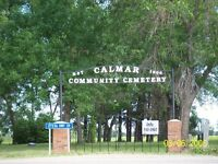 Cemetery Plots-Calmar AB-4 K's west of Calmar
