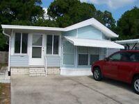 Maison mobile à louer sur la côte ouest     Floride (non-fumeur)