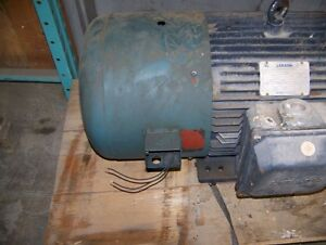 30 Hp 6 Pole Leeson c/w Electric Cooling Fan Kitchener / Waterloo Kitchener Area image 4