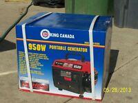 Lightweight portable generator