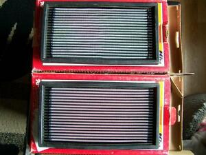 K&N oil & air filters