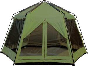 New - PORTABLE SCREEN HOUSE GAZEBO TENT WITH RAIN FLAPS - Enjoy your family picnic without those nasty insect bites !!