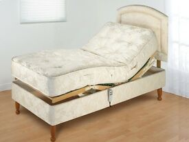 Electric Adjustable Single Bed by Furmanac