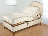 Electric Adjustable Single Bed by Furmanac