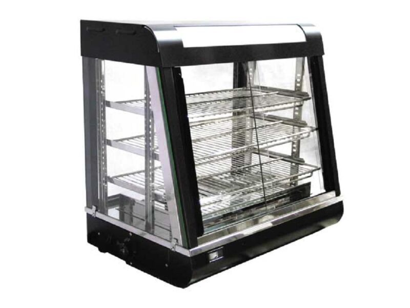 Omcan FW-2-2, Food Warmer, Display Case, CE