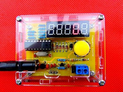 1hz-50mhz Crystal Oscillator Frequency Counter Meter Digital Led Pic Case Diy