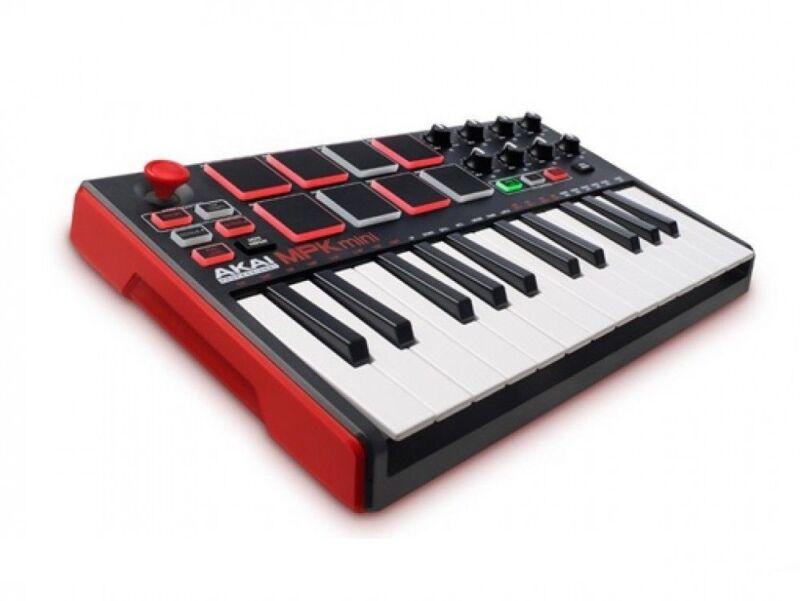 AKAI professional MPK mini MK2 MIDI Keyboard Controller From Japan
