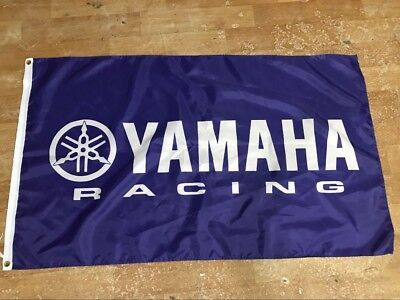 3x5ft yamaha flag, motorcycle logo flag flags Decoration banner 100D game car ra for sale  Shipping to Canada