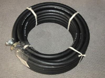 """20 Meter Pressluftschlauch Kompressorschlauch Druckluftschlauch 3/4"""" komplett"""