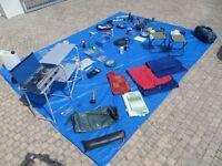 Full set of camping equipment