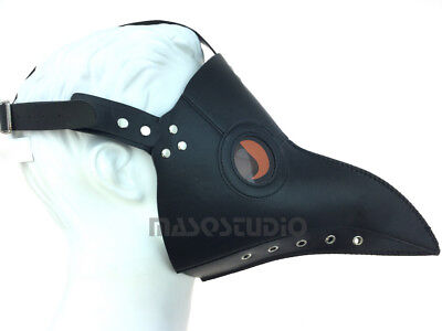 The Plague Doctor Halloween Costume Carnival Birthday Party Bird mask - Classic - Halloween Carnival Party