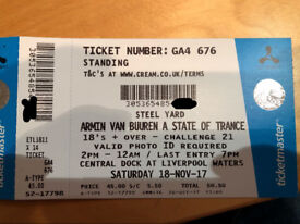 Creamfields Steel Yard - Armin Van Buuren A State of Trance