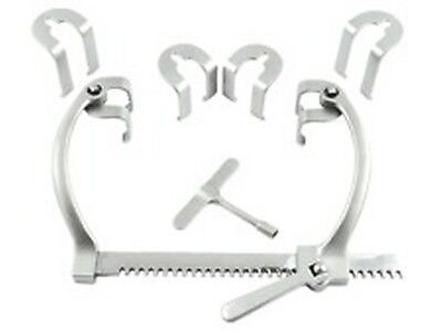 Sellors Retractor Set Surgical Medical Instruments Self Retaining Abdominal
