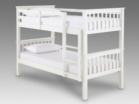 New Single wooden bunk bed