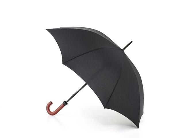 Fulton Huntsman Mens Walking Length Long Umbrella Black
