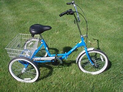 Fold and Go Single Speed Trike