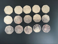 Lot of 50p olympic 2012