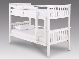 TOP QUALITY ❤70% OFF❤ Single Convertible Wood Bunk Bed With Range Of Mattress option